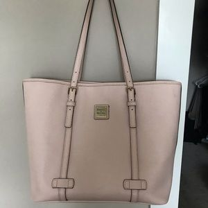 Dooney & Burke light pink purse